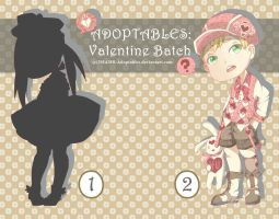 Adoptables Auction! .:Valentine Batch:. [open] by RaraSavitri