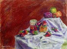 4-Pastel Still Life by narutokunobessed