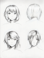 Female hairstyle practice 1 by ShenGoDo