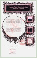 Speak Pink Journal Installable by GillianIvy