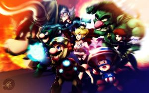 The Mario Avengers - Revamp by Jay-Phenrix