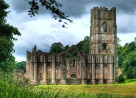 Fountains Abbey.... by Bootcoot