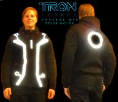 Tron Legacy Cosplay WIP by HynMayProductions