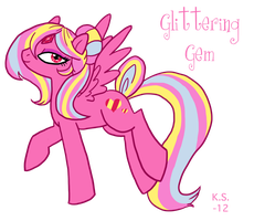G4 MLP Glittering Gem by The-Clockwork-Crow