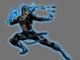 Blue Lantern Iron Fist by Lord-Lycan