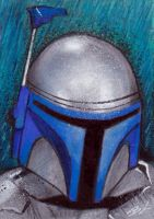 Jango Sketch Card by Ethrendil