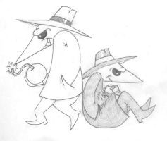 Spy vs Spy by Lockpine