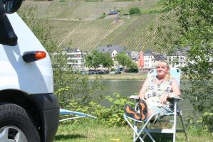 holiday feelings at Mosel by ingeline-art