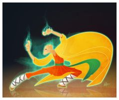 Character Design Challenge - Shaolin Monk by patrickianmoss
