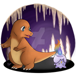 #004- Charmander by EmmilliaBedillia