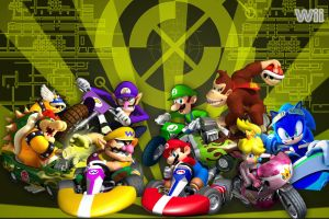 Mario Kart Wii pt. 2 Wallpaper by linkintek06