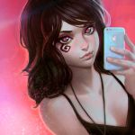 Death selfie by KR0NPR1NZ
