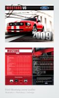 Ford Mustang 2009 Leaflet by Jaziel
