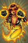 Firestar Color commission by rainerpetterart