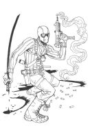 Snake-Eyes Commission 2 by bearmantooth