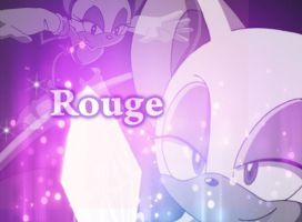 Rouge the bat-wallpaper by Nereathehedgehog