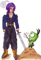 Gir Meets Trunks by TresMaxwell