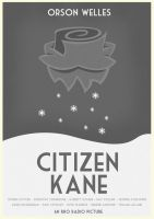 Citizen Kane Poster Variant by W0op-W0op