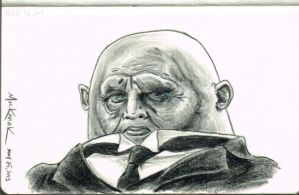 Strax sketch by NickMockoviak
