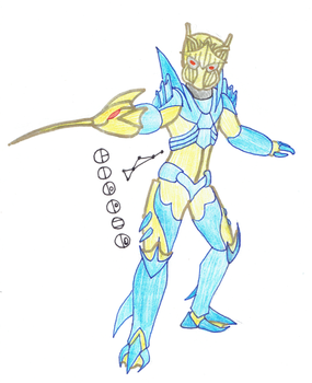 Gilded, Toa of the Constellation Dorado by Color17