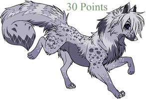 30 Point Canine Adoptable -SOLD- by Vampiric-Massacre