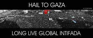 HAIL TO GAZA by olumdenyoksun