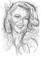 Stardoodle: Blake Lively by chillerofhell