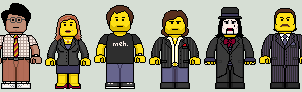 Lego'd The IT Crowd v2 by Ripplin