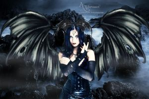 The Dark Angel by annemaria48