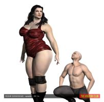 Rosie Donoghue - wrestler - 6ft 1in - 02 by theamazonclub