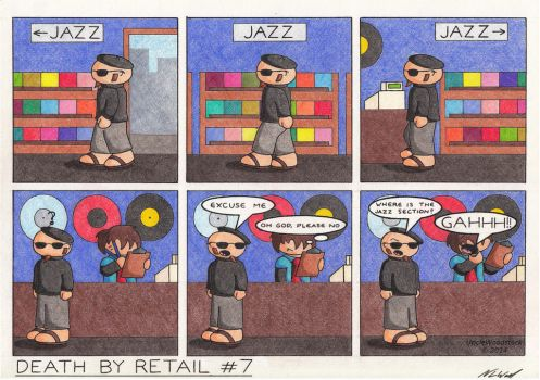Death By Retail #7 by UncleWoodstock