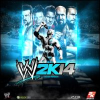 WWE 2K14 Blue Version Graphic ENTRY by RickSamas