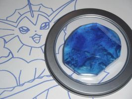 Vaporeon Evolution Stone, Water Stone by ChinookCrafts