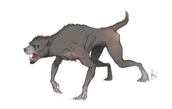 Werewolf by MagpieSkadoosh