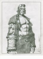 Hellboy Pencil 2 by ncajayon