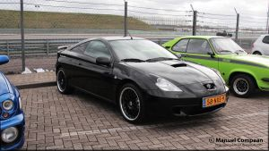 2001 Toyota Celica by compaan-art