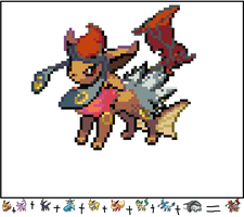 All Evee Evolution and donphan by Arceusomegazone