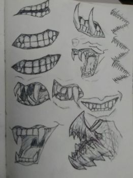 Mouth study by Spinian