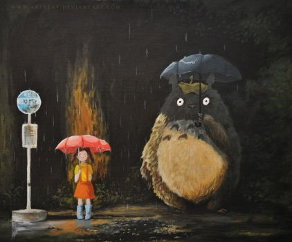 Totoro by Artylay