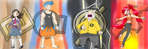The New Hoenn Gym Leaders Part 1 by ChrisJ-Alejo