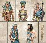 Historia DA collection - Egyptians by Lythilien