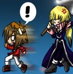 Judai Crowler Fight Art Trade by The-Biscuit-Roku