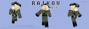 Raikov - MGS3 - Minecraft Skin by Sesshoumaru-lover