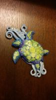 sea turtle for Alex by thelovelycrow