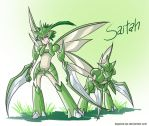 Scyther cloth by ToPpeRa-TPR