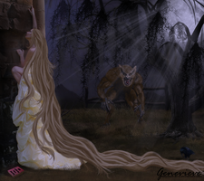 Rapunzel's Mistake by EVI-A