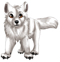 Agern as a puppy by Chotara