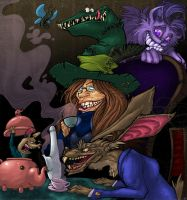 Worst Mad Hatter Ever... by wildragon