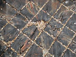 00035 - Wood Tile with Gravel by emstock
