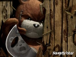 Naughty Bear 2 by Southfede